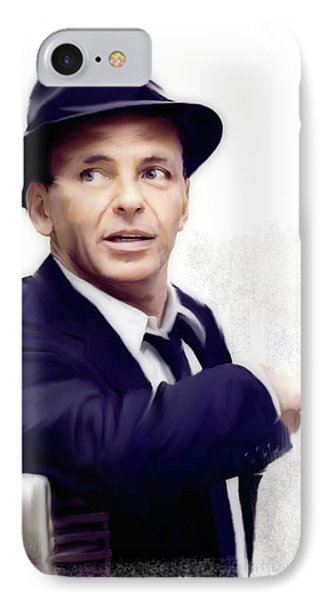 The iPhone 7 Case - Frank Sinatra Sinatra by Iconic Images Art Gallery David Pucciarelli