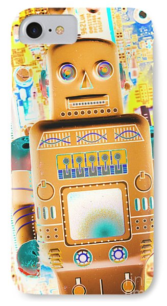Technological iPhone 7 Case - The Transistor Bot by Jorgo Photography - Wall Art Gallery
