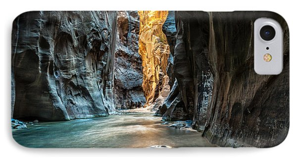 The iPhone 7 Case - Wall Street - Virgin River, Zion by Mattymeis