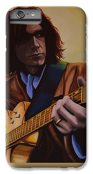 Neil Young Painting IPhone 7 Plus Case by Paul Meijering