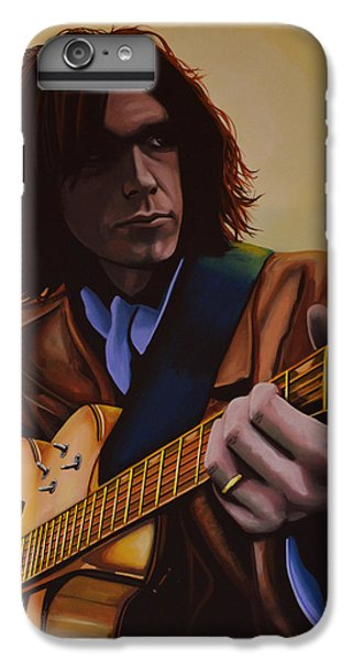 The Moon iPhone 7 Plus Case -  Neil Young Painting by Paul Meijering