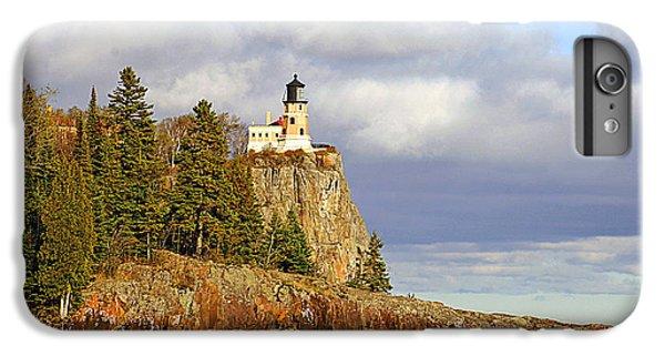 Lake Superior iPhone 7 Plus Case - 0376 Split Rock Lighthouse by Steve Sturgill
