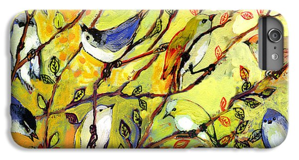 Chickadee iPhone 7 Plus Case - 16 Birds by Jennifer Lommers