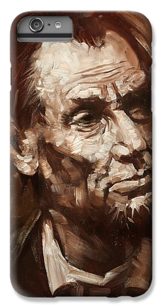 Abraham Lincoln IPhone 7 Plus Case by Ylli Haruni