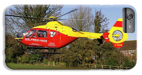 Donation iPhone 7 Plus Case - Air Ambulance Helicopter by Sheila Terry