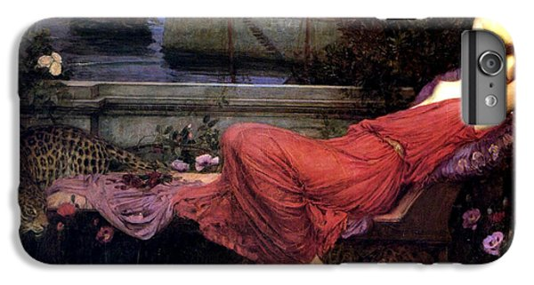 Minotaur iPhone 7 Plus Case - Ariadne by John William Waterhouse