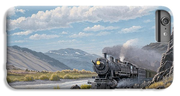 Train iPhone 7 Plus Case - At Point Of Rocks-bound For Livingston by Paul Krapf