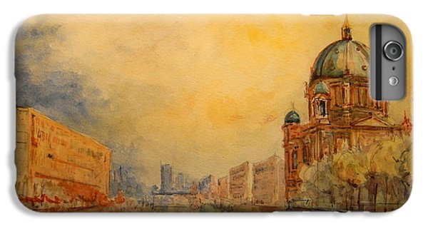 Berlin IPhone 7 Plus Case by Juan  Bosco