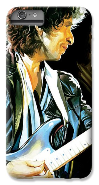 Bob Dylan Artwork 2 IPhone 7 Plus Case by Sheraz A
