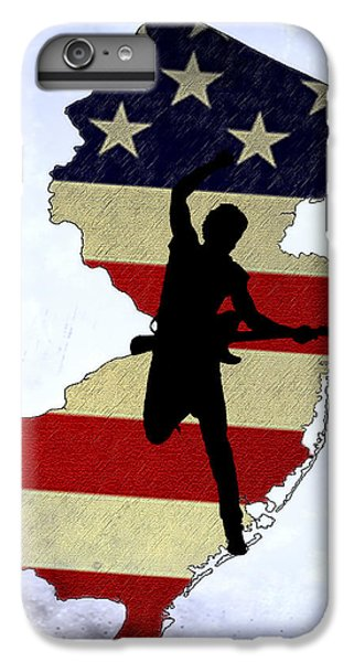 Bruce Springsteen iPhone 7 Plus Case - Born In New Jersey by Bill Cannon