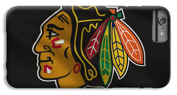 Chicago Blackhawks Uniform IPhone 7 Plus Case by Joe Hamilton