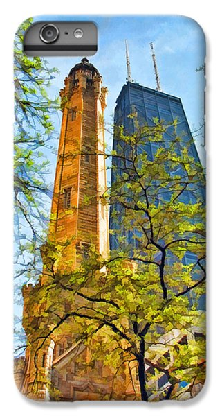 Chicago Water And Hancock Towers IPhone 7 Plus Case by Christopher Arndt