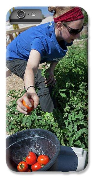 Donation iPhone 7 Plus Case - Community Garden Volunteer by Jim West