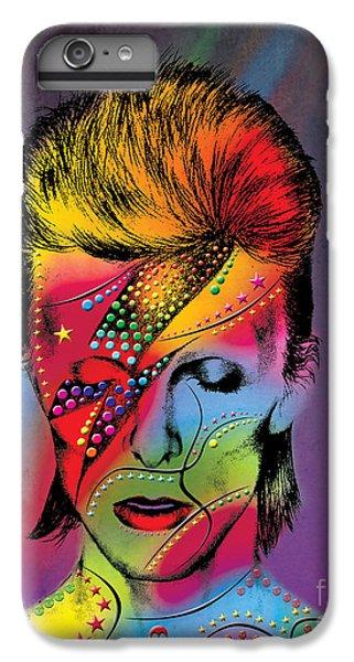 Elvis Presley iPhone 7 Plus Case - David Bowie by Mark Ashkenazi