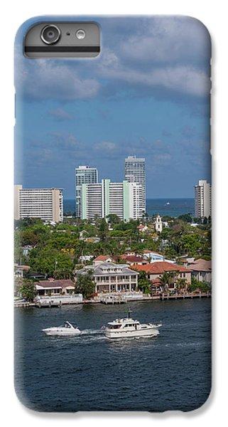 Jet Ski iPhone 7 Plus Case - Fort Lauderdale, Port Everglades by Jim Engelbrecht