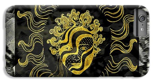 Golden God IPhone 7 Plus Case by Nareeta Martin