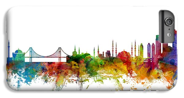 Istanbul Turkey Skyline IPhone 7 Plus Case by Michael Tompsett
