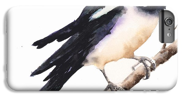 Magpie Painting IPhone 7 Plus Case