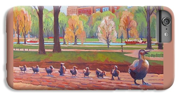 Boston iPhone 7 Plus Case - Make Way For Ducklings by Dianne Panarelli Miller