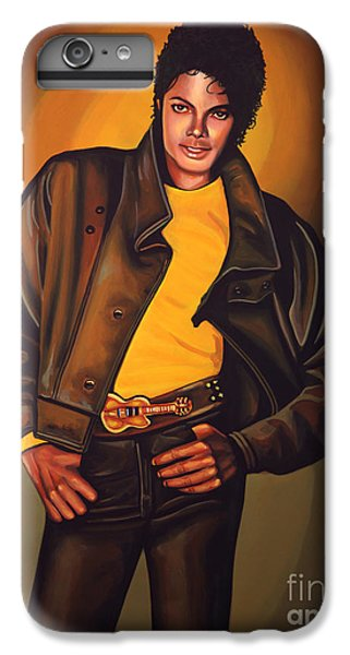 Michael Jackson iPhone 7 Plus Case - Michael Jackson by Paul Meijering