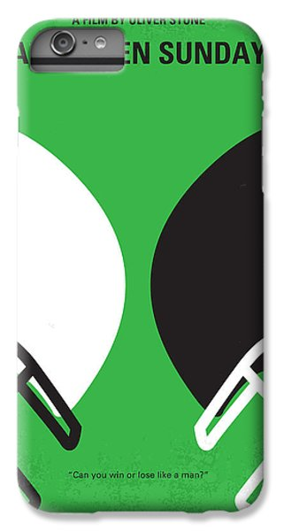 No420 My Any Given Sunday Minimal Movie Poster IPhone 7 Plus Case by Chungkong Art