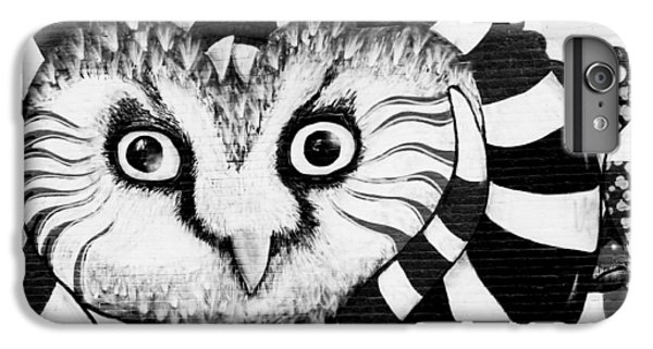 IPhone 7 Plus Case featuring the photograph Owl Mural by Ricky L Jones