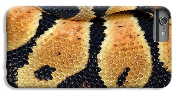 Python iPhone 7 Plus Case - Pastel Royal Python by Nigel Downer