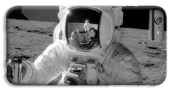 Astronauts iPhone 7 Plus Case - Reflecting by Jon Neidert