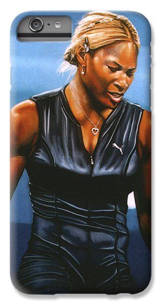 Athletes iPhone 7 Plus Case - Serena Williams by Paul Meijering