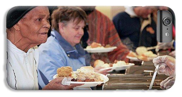 Donation iPhone 7 Plus Case - Soup Kitchen by Jim West
