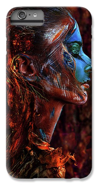 Fairy iPhone 7 Plus Case - Spirit Of The Wood by Ivan Kovalev