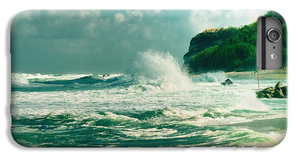 Stormy Sea IPhone 7 Plus Case by Silvia Ganora