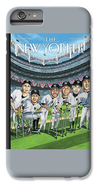 Yankee Stadium iPhone 7 Plus Case - New Yorker April 8th, 2013 by Mark Ulriksen