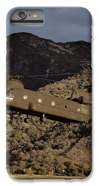 Helicopter iPhone 7 Plus Case - Usa, California, Chinook Search by Gerry Reynolds