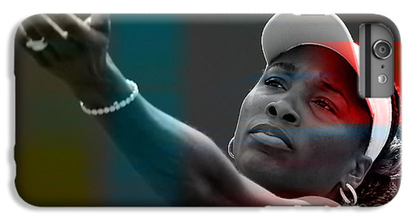 Venus Williams IPhone 7 Plus Case by Marvin Blaine
