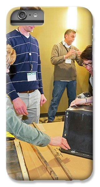 Volunteers Making Bat Houses IPhone 7 Plus Case by Jim West