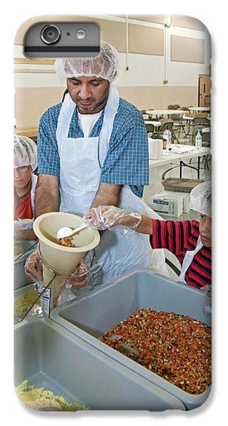 Donation iPhone 7 Plus Case - Volunteers Preparing Meal Packages by Jim West