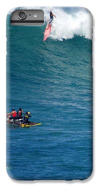 Jet Ski iPhone 7 Plus Case - Waimea Bay Takeoff by Kevin Smith