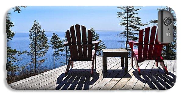 Lake Superior iPhone 7 Plus Case - Wish You Were Here by Matthew Blum
