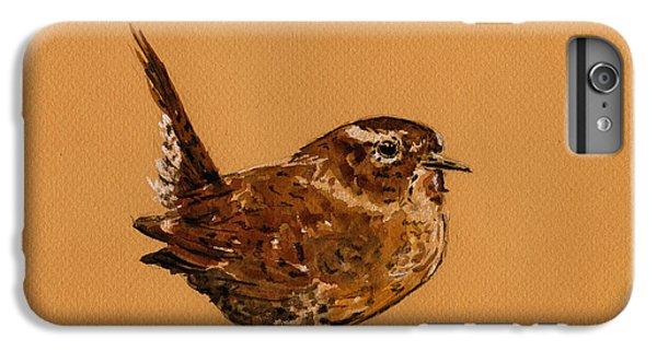 Wren Bird IPhone 7 Plus Case by Juan  Bosco