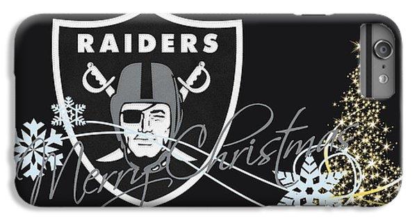 Oakland Raiders IPhone 7 Plus Case by Joe Hamilton