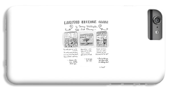 Limited Edition Cards IPhone 7 Plus Case by Roz Chast
