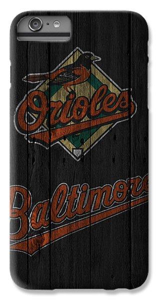 Oriole iPhone 7 Plus Case - Baltimore Orioles by Joe Hamilton