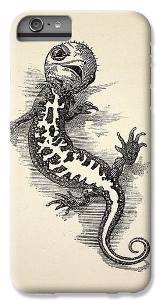 1863 Kingsley Waterbabies Human Newt IPhone 7 Plus Case