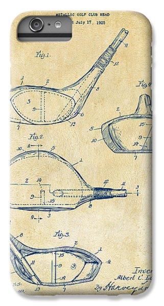 Golf iPhone 7 Plus Case - 1926 Golf Club Patent Artwork - Vintage by Nikki Marie Smith