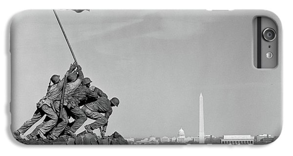 Capitol Building iPhone 7 Plus Case - 1960s Marine Corps Monument by Vintage Images