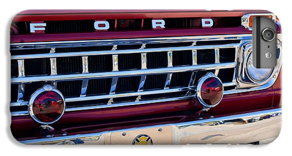 1965 Ford American Lafrance Fire Truck IPhone 7 Plus Case by Jill Reger