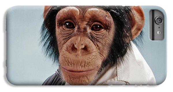 1970s Close-up Face Chimpanzee Looking IPhone 7 Plus Case