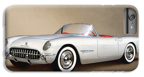 Roadrunner iPhone 7 Plus Case - 1953 Corvette Classic Vintage Sports Car Automotive Art by John Samsen