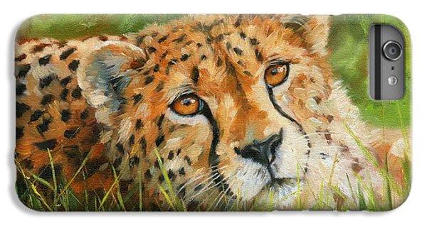 Cheetah iPhone 7 Plus Case - Cheetah by David Stribbling